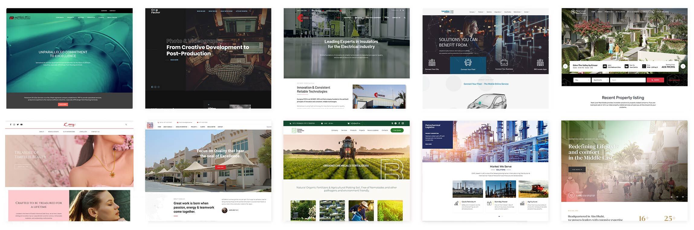 evox-website-design-development-marque